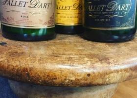 Duftkerzen aus Champagnerflaschen